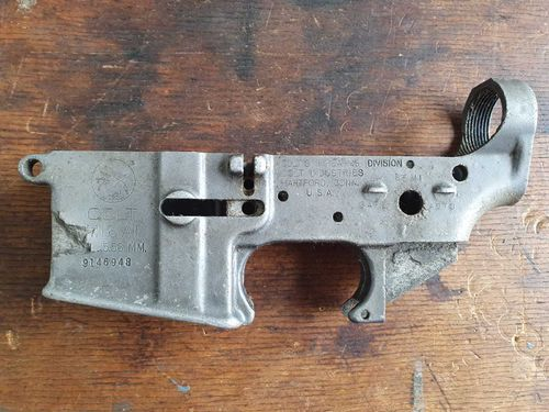 M16 Lower, US Colt made, MANKO