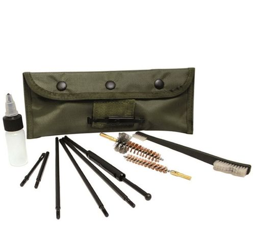Cleaning set 7,62, AK / Mauser / FAL, also US30-06, olive