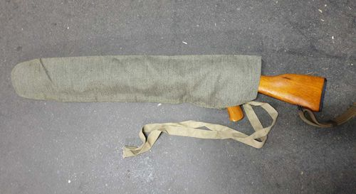System protection  Ak47 from balkan war, green