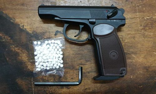 KWC MKV PM Makarov Blow-Back, 6mm Airsoft, BBS, CO2