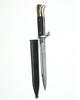 WH K98 parade bayonet, nickel plated