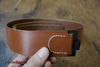 WH LW leather belt